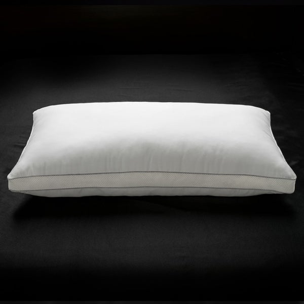 Ella Jayne Penthouse Collection MEMORY FIBER Pillow 100% Cotton Luxurious Mesh Gusseted Shell All Sleeper Pillow - White