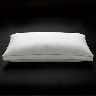 100% Cotton Mesh Gusseted Memory Fiber Filled Pillow  - All Type Sleepers - White