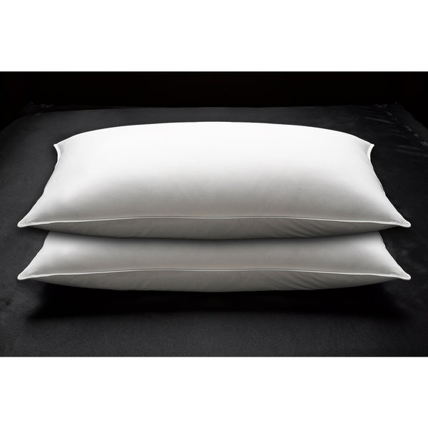 233 Thread Count Cotton Down Firm Pillow (Set of 2) - White