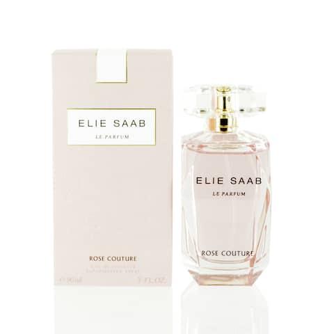 Elie Saab Le Parfum Rose Couture Eau De Toilette Spray 3.0 Oz / 90 Ml