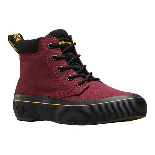 Shop Women s Dr. Martens Allana Padded Collar Boot Cherry Red Black Fine  Canvas - Free Shipping Today - Overstock - 16560141 b90be64ec8