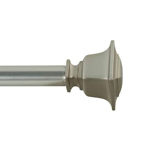 Little Elm Adjustable Single Curtain Rod