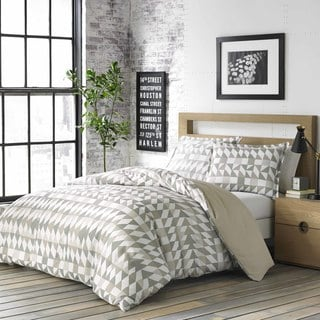 City Scene Piper Grey Duvet Cover Set
