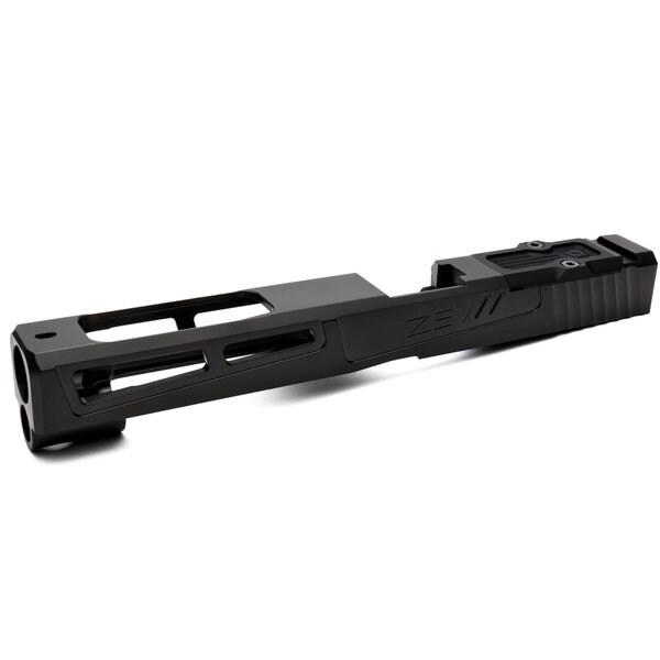 ZEV Technologies PrizeFighter RMR Abs. Co-wit in DLC, Glock 34 Gen 1-3 - SLD-Z34-3G-PRZF-RMR-CW.ABS-DLC