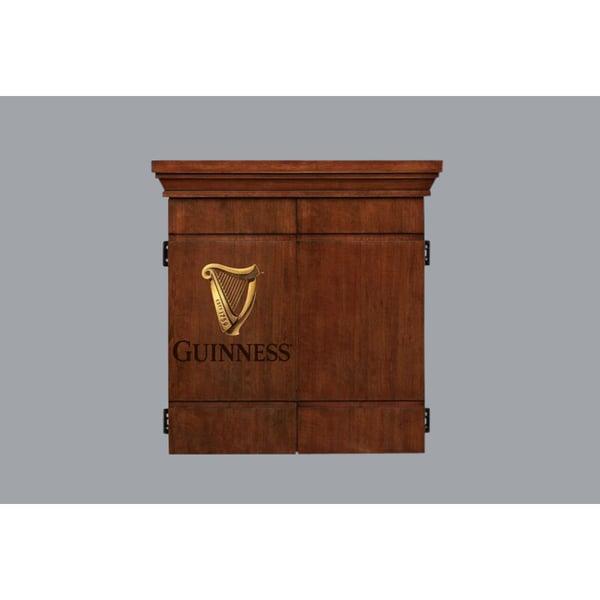 Guinness Dart Board Cabinet Set