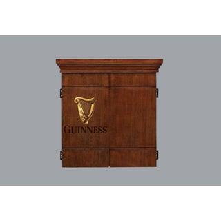 Guinness Dart Board Cabinet Set