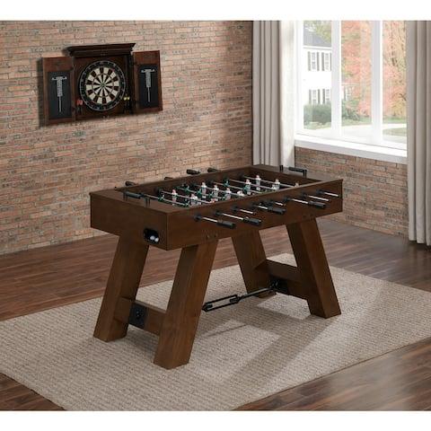 Savannah Brown Wood Foosball Table