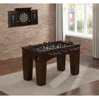 Emerson Brown/Green Foosball Table