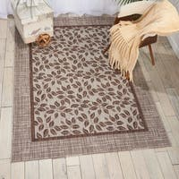 Nourison Garden Party Natural Indoor/Outdoor Area Rug - 9'6 x 13'
