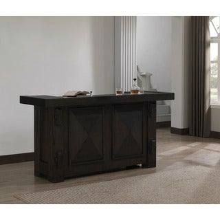 Berkshire Dark Chocolate Oak Home Bar