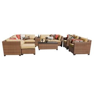 Outdoor Home Bayou Wicker 12-piece Outdoor Patio Lounge Set