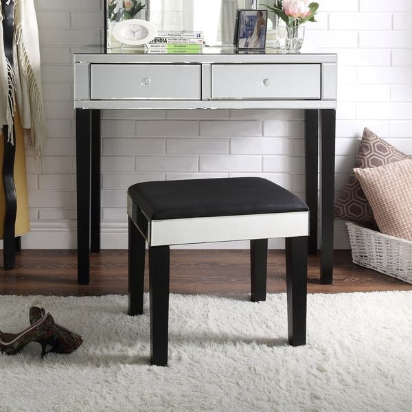 Remarkable Shop Portia Mirrored 2 Drawer Vanity Corner Vanity Table Ocoug Best Dining Table And Chair Ideas Images Ocougorg