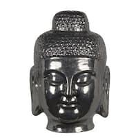 Buddah Head - Silver