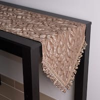 Sherry Kline Canyon Embossed Luxury Table Runner