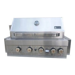 """Mont Alpi Built in 400 32"""" Gas Grill"""