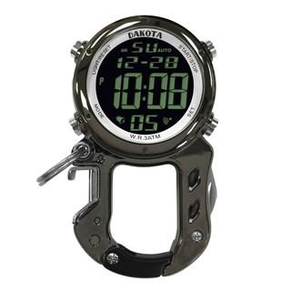 Dakota Men's Digital Zip Clip Watch