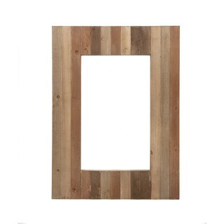Urban Designs Getaway Multicolor Wood-framed 38-inch Wall Mirror