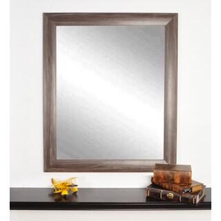 Multi Size Montauk Night Brown Wall Mirror - Grey/Brown
