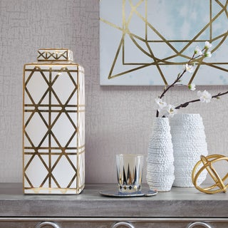Madison Park Signature Huxley Gold Canister