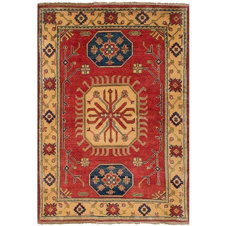 eCarpetGallery Gazni Multicolored Wool Hand-knotted Rug (3'3 x 4'8)
