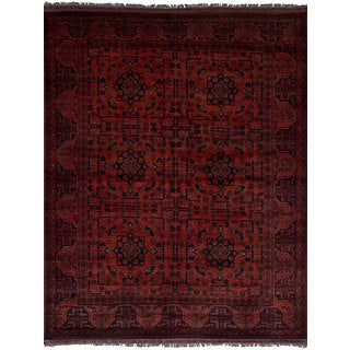 eCarpetGallery Finest Khal Mohammadi Brown Wool Hand-knotted Rug (5'0 x 6'6)