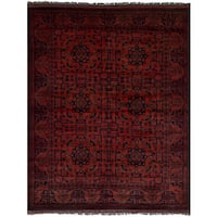 eCarpetGallery Finest Khal Mohammadi Brown Wool Hand-knotted Rug - 5'0 x 6'6
