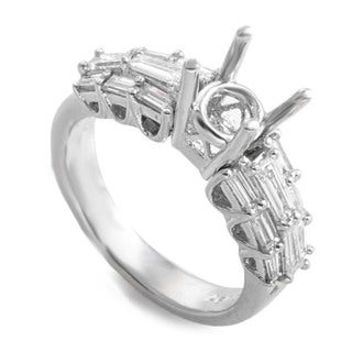 Platinum & Diamond Mounting Ring LBD-064781