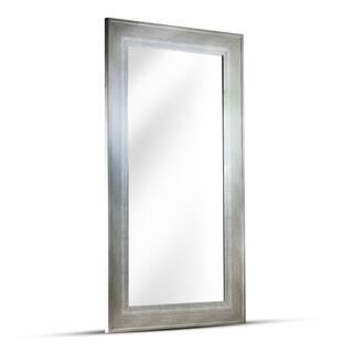 leighton rectangular framed wall vanity mirror - White Framed Mirrors