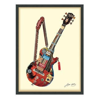 Electric Guitar Dimensional Art Collage|https://ak1.ostkcdn.com/images/products/16565429/P22897451.jpg?impolicy=medium