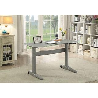 Furniture of America Glidene Modern 47-inch Metal Computer Table
