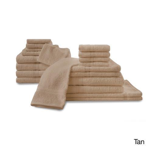 Cozelle 20-piece Assorted Bath Towel Set