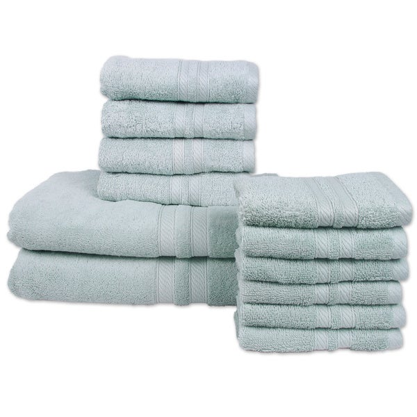 Bali 12-Piece Towel Set (2-Bath, 4-Hand, 6-Wash)