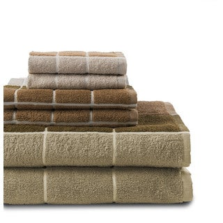 Checkmate 6-Piece Towel Set (2-Bath, 2-Hand, 2-Wash)