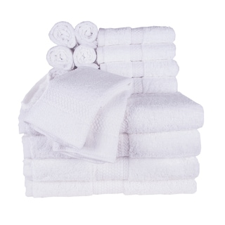 Chubby 16-Piece Towel Set (4-Bath, 4-Hand, 8-Wash)