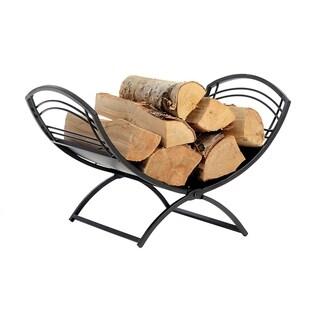 Fireplace Classic Log Holder Black