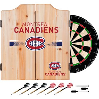 NHL Dart Cabinet Set with Darts and Board (More options available)