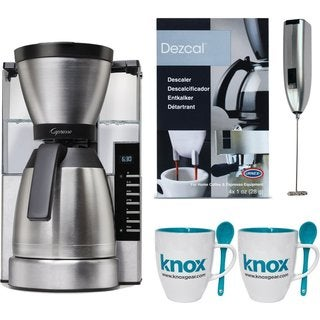 Capresso MT900 10-Cup Rapid Brew Coffee Maker w/ Thermal Carafe Bundle