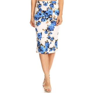 Link to Women's Floral Pattern Pencil Skirt Similar Items in Skirts