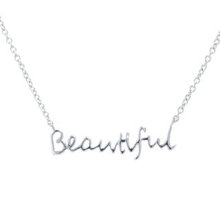 Sterling Silver BEAUTIFUL Necklace