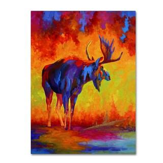 Marion Rose 'Moose 5' Canvas Art