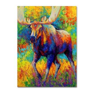 Marion Rose 'Bull Moose' Canvas Art