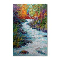 Marion Rose 'Tamahi River' Canvas Art