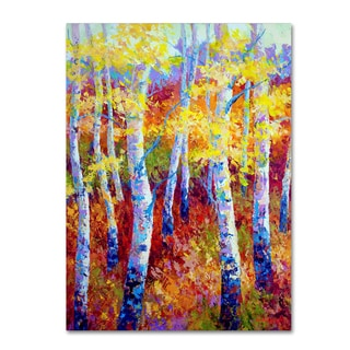 Marion Rose 'Autumn Gold' Canvas Art