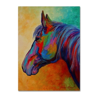 Marion Rose 'Casino Bay Horse 1' Canvas Art