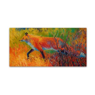 Marion Rose 'Red Fox 1' Canvas Art