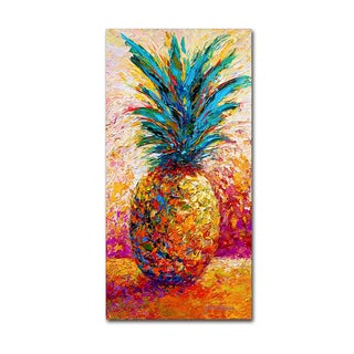 Marion Rose 'Pineapple Expression' Canvas Art