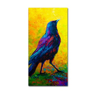 Marion Rose 'Crow 3' Canvas Art