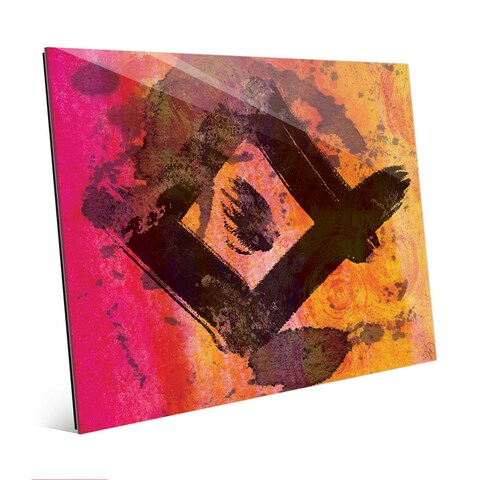 Bright Diamond Abstract Wall Art Print on Acrylic
