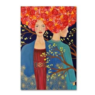 Sylvie Demers 'Les Ames Soeurs' Canvas Art