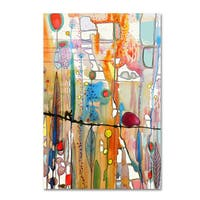 Sylvie Demers 'Looking For You' Canvas Art